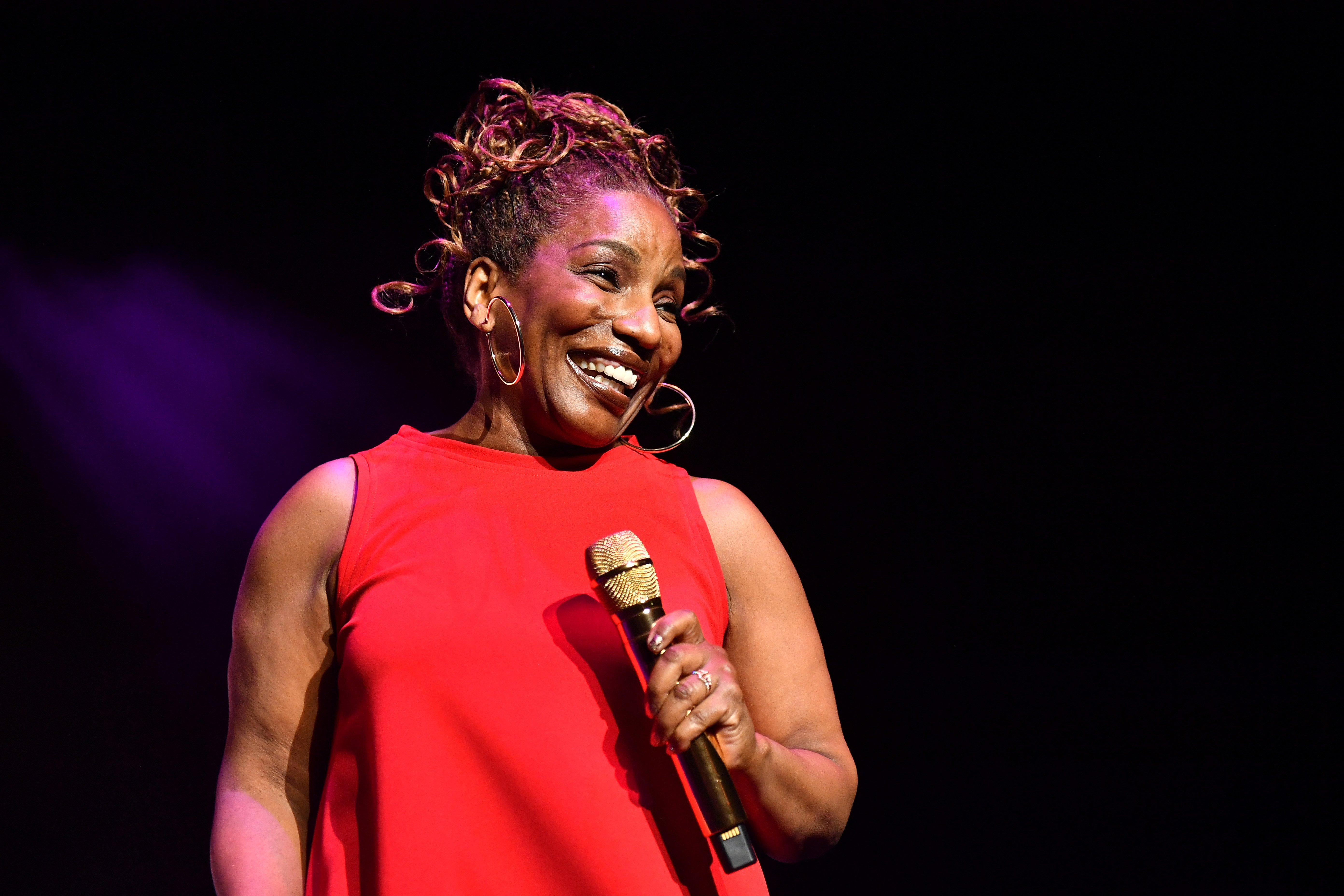 Stephanie Mills performs onstage during the 2019 Black Friday R&B Mega Fest at State Farm Arena on November 29, 2019 in Atlanta, Georgia. I Image: Getty Images.