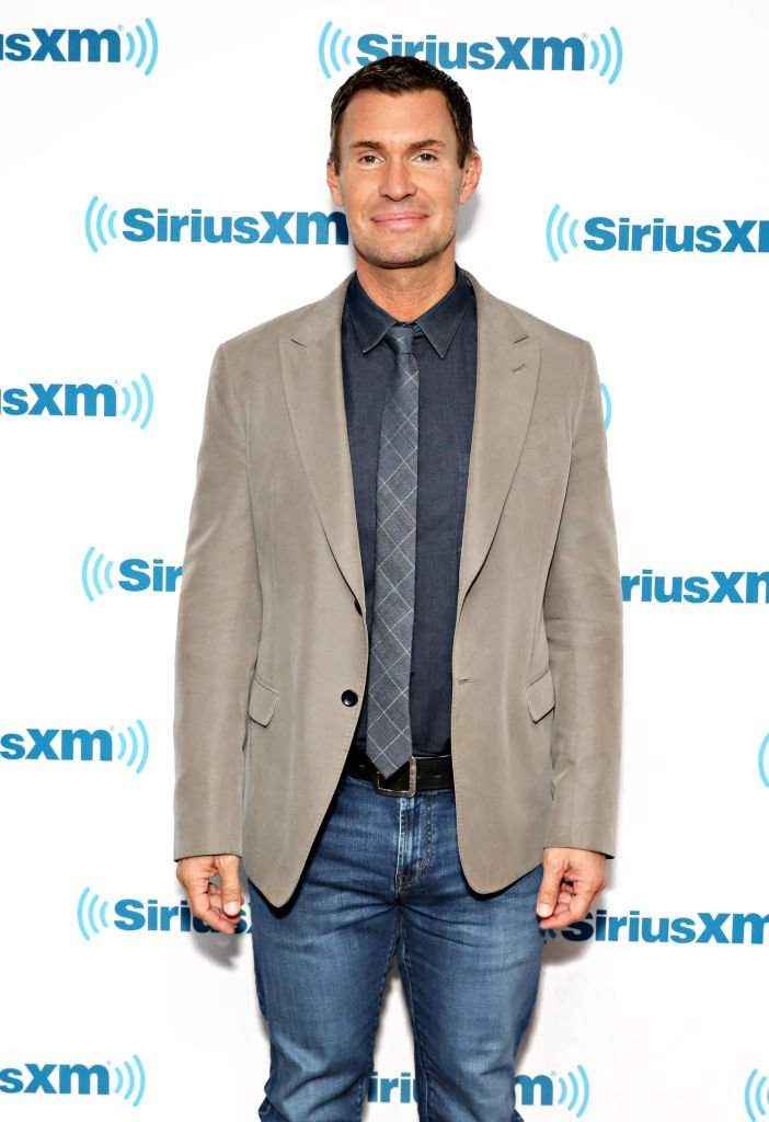 Jeff Lewis at the SiriusXM Studios. | Source: Getty Images