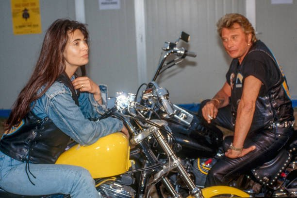 Adeline Blondieau et Johnny Hallyday | Photo : Getty Images