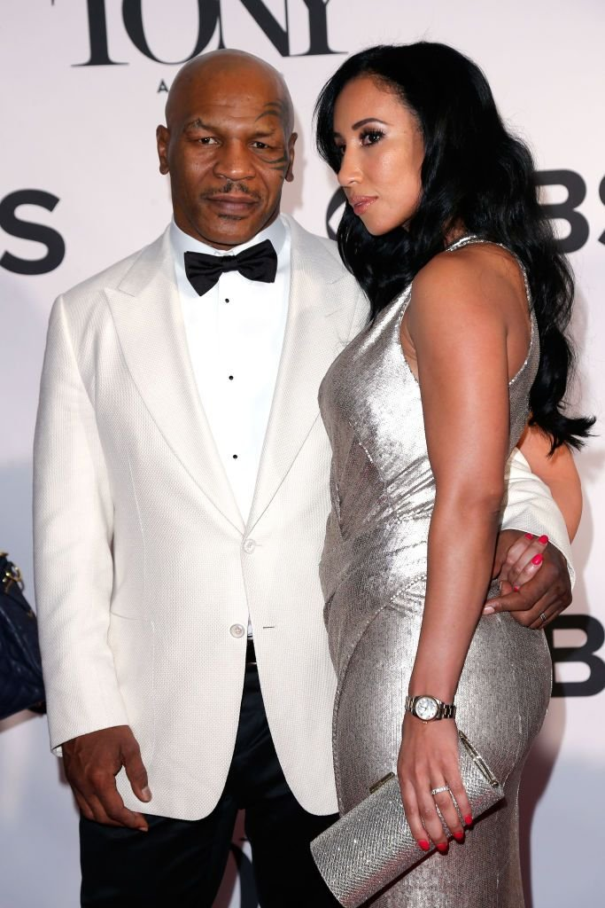 Mike Tyson and Lakiha Spicer attend The 67th Annual Tony Awards at Radio City Music Hall on June 9, 2013 in New York City. | Source: Getty Images