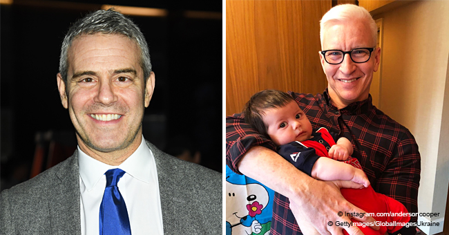 Anderson Cooper Pictured Holding Andy Cohen's 'Adorable' Son Instead of Discussing Upcoming Shows