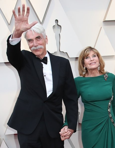 Sam Elliott and Katharine Ross at Hollywood and Highland on February 24, 2019 in Hollywood, California | Photo: Getty Images