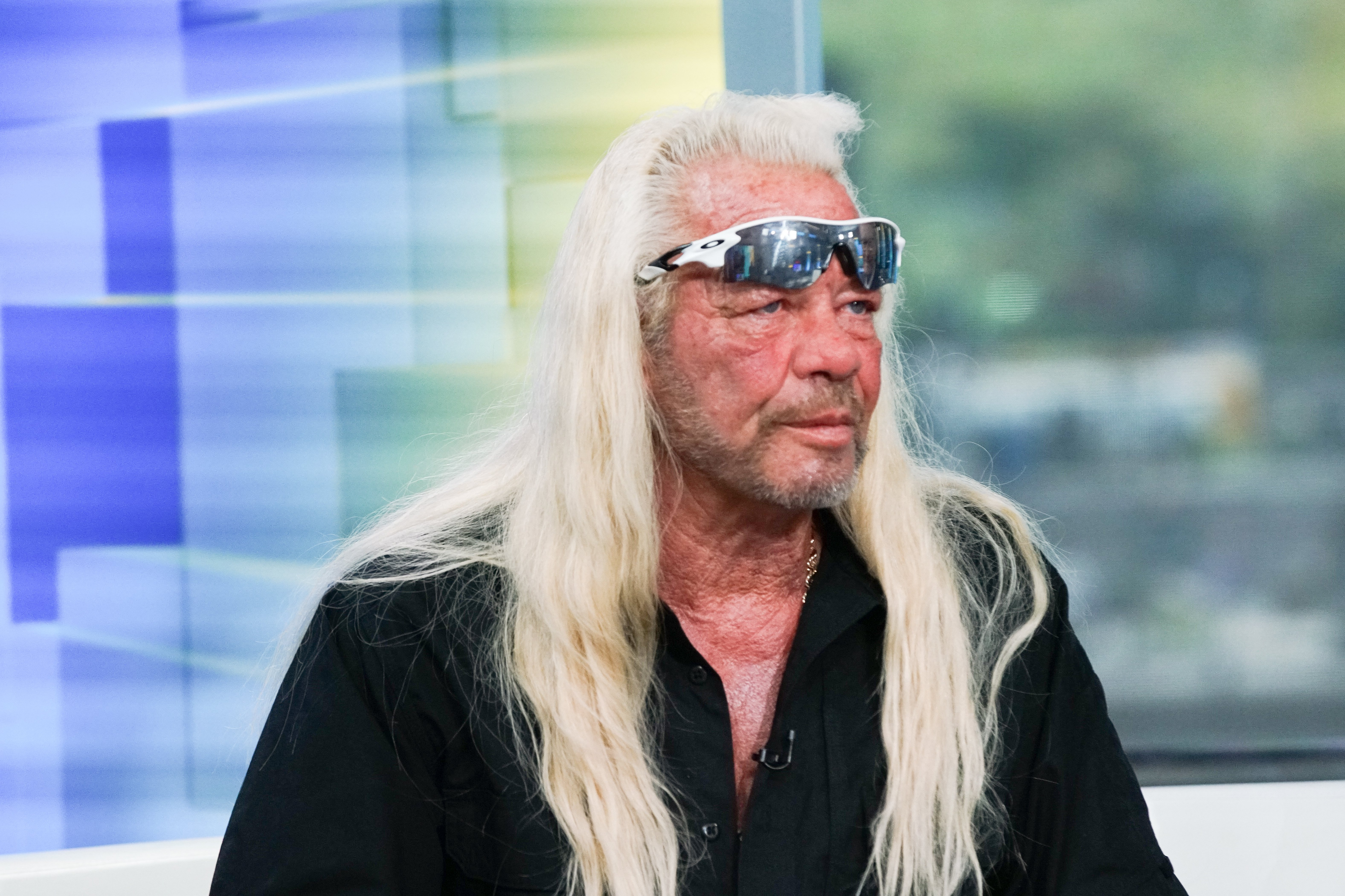 """TV personality Duane Chapman aka Dog the Bounty Hunter visits """"FOX & Friends"""" at FOX Studios on August 28, 2019 in New York City.   Source: Getty Images"""
