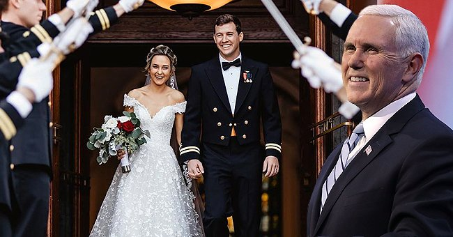 Mike Pence's Daughter Charlotte Secretly Got Married at the US Naval Academy 3 Days after Christmas