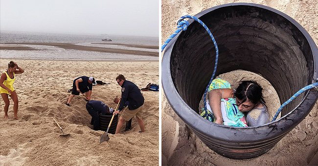 15-Year-Old Girl Rescued after Sand Collapsed on Her – What Happened?