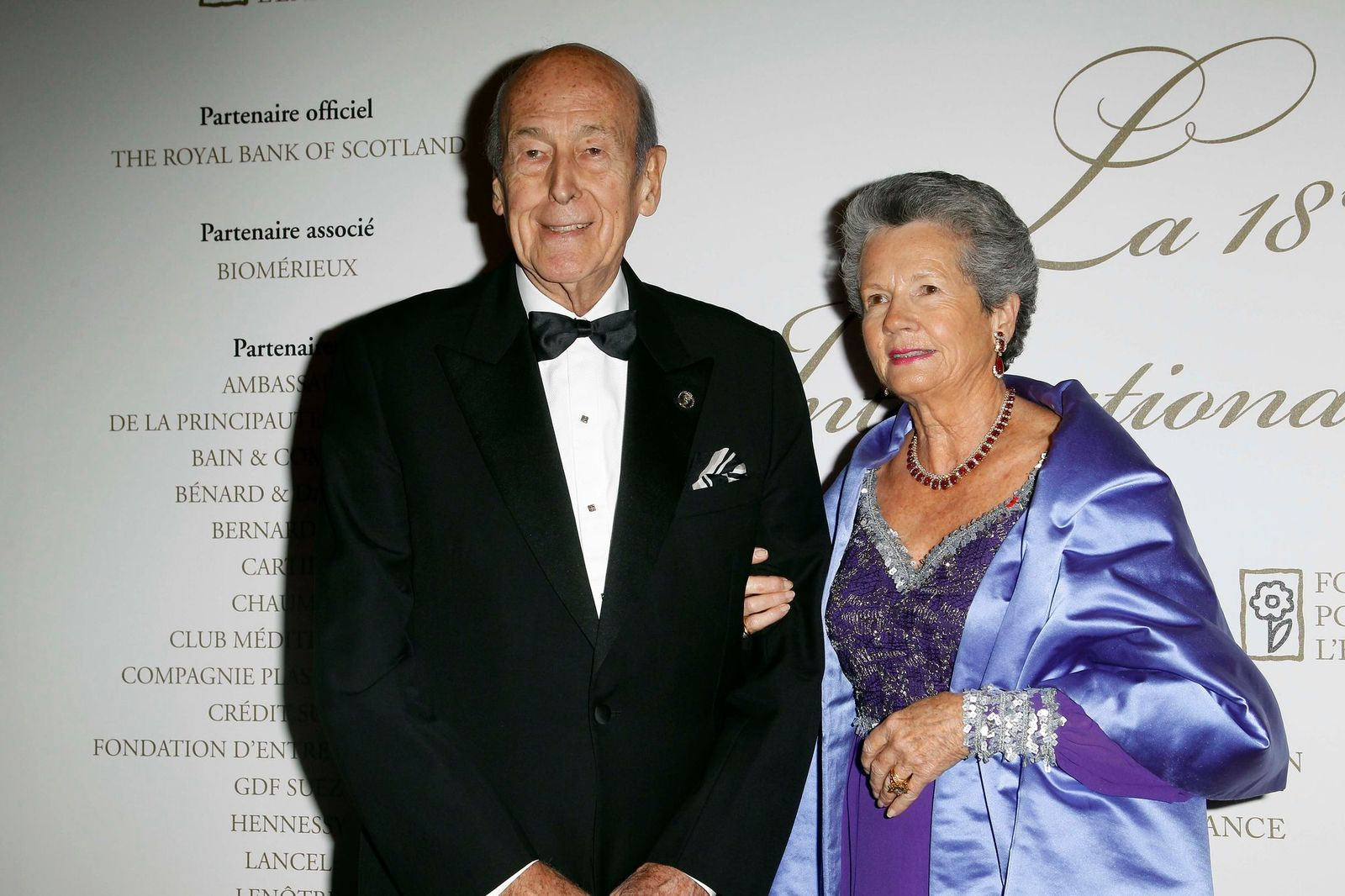 Anne-Aymone Giscard d'Estaing et son mari Valéry Giscard d'Estaing | Photo : Getty Images
