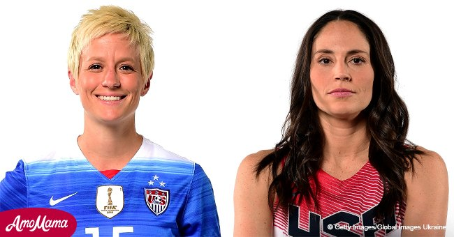 Two sportswomen become first same-sex couple on cover of ESPN's 'The Body Issue'
