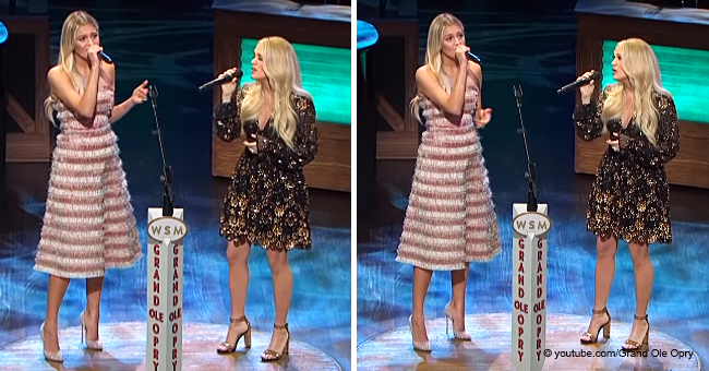 Carrie Underwood and Kelsea Ballerini Stun Fans with a Magnificent Duet at the Grand Ole Opry