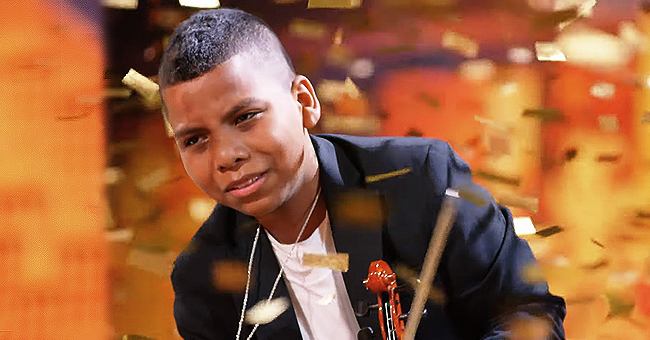Watch Cancer Survivor Violinist Wow AGT Crowd & Earn Simon Cowell's Golden Buzzer