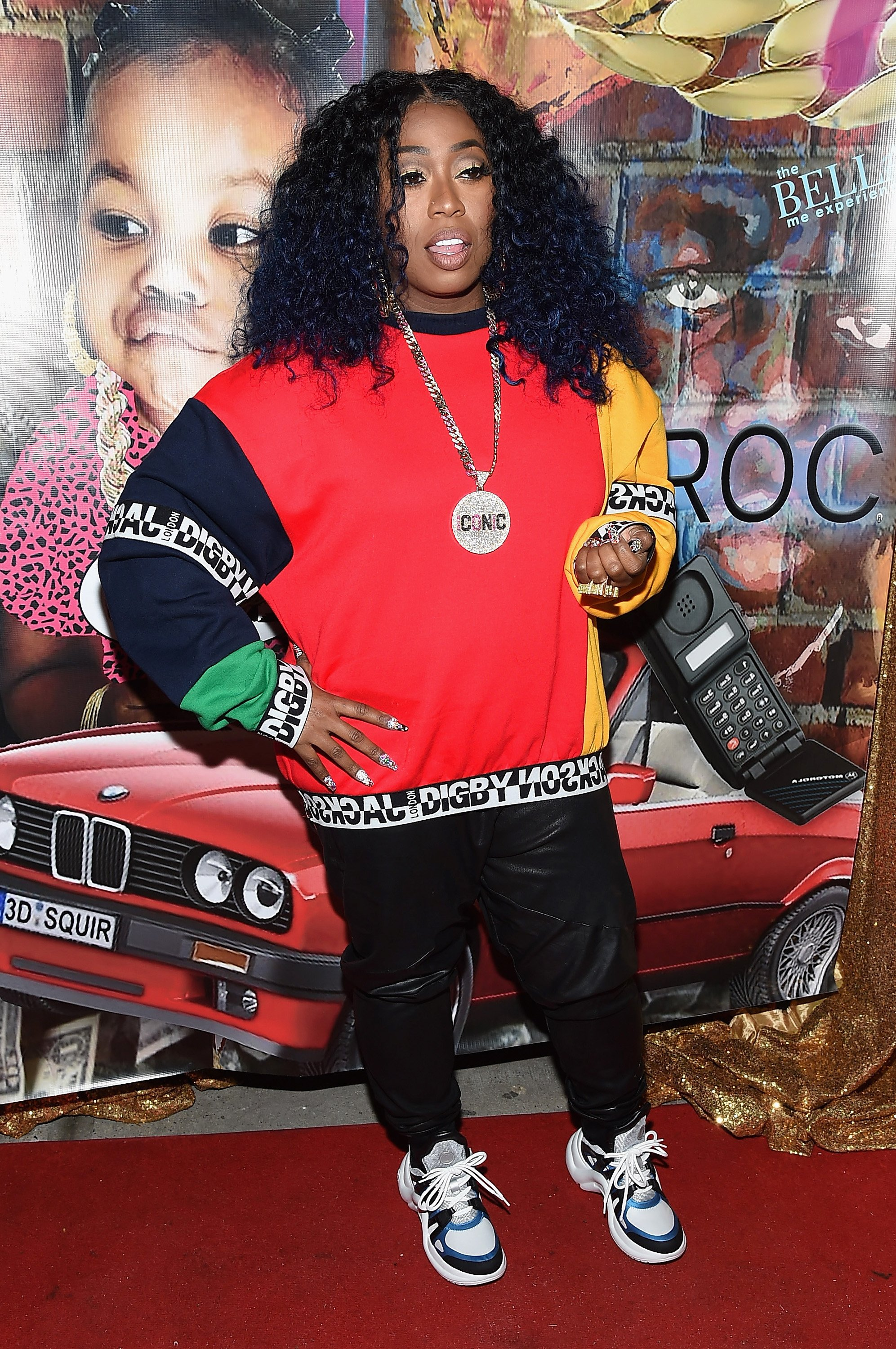 Missy Elliott attends the Junie Bee Nail Salon grand opening on February 15, 2018 in New York City | Photo: GettyImages