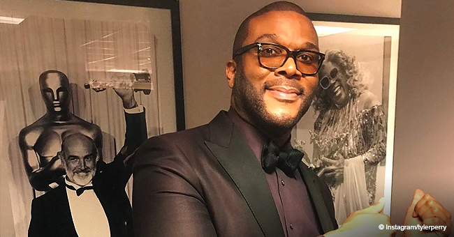 Tyler Perry's Longtime Partner Stuns in Black Mini Dress & Matching Boots in New Picture
