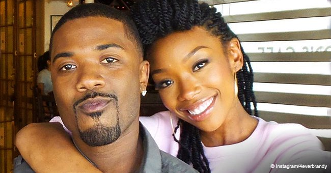 Brandy and niece Melody dance together on the star's bithday in video shared by brother Ray J