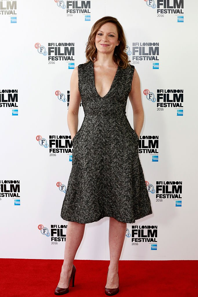 "L'actrice Rachael Stirling assiste à ""leur meilleur '' photocall lors de la 60e BFI London Film Festival à l'hôtel Mayfair le 13 octobre 2016. 