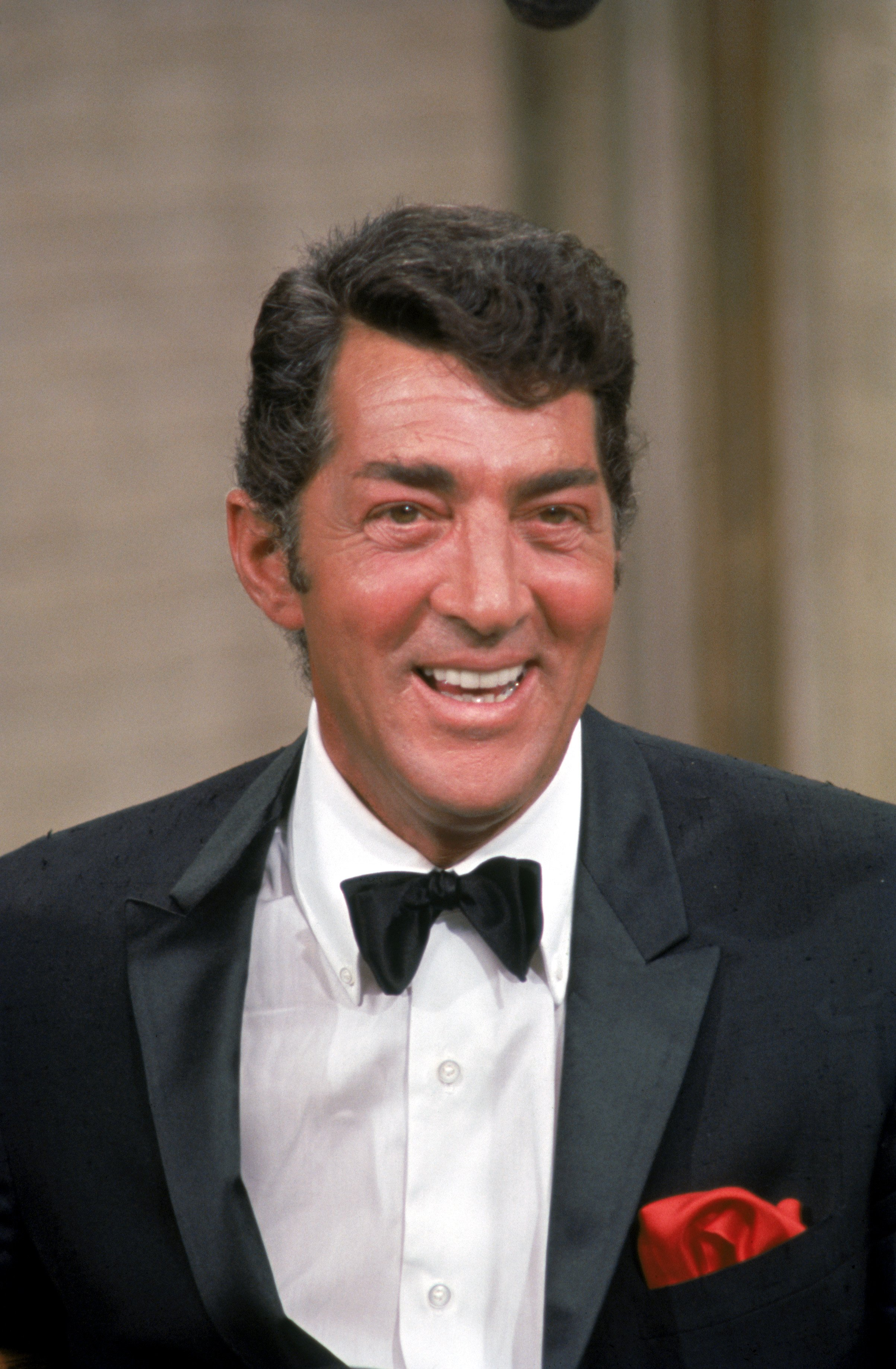 "Dean Martin on the set during filming of ""The Dean Martin show"" in 1967 