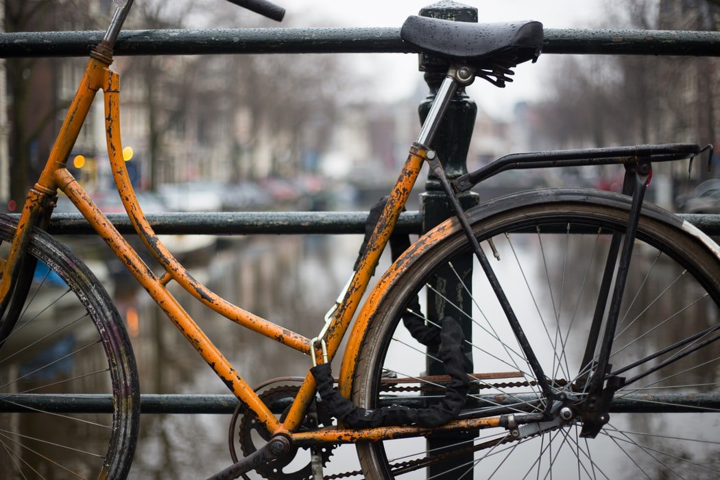 Nessa fished out her old bike as a means of transport after selling her car   Source: Pexels