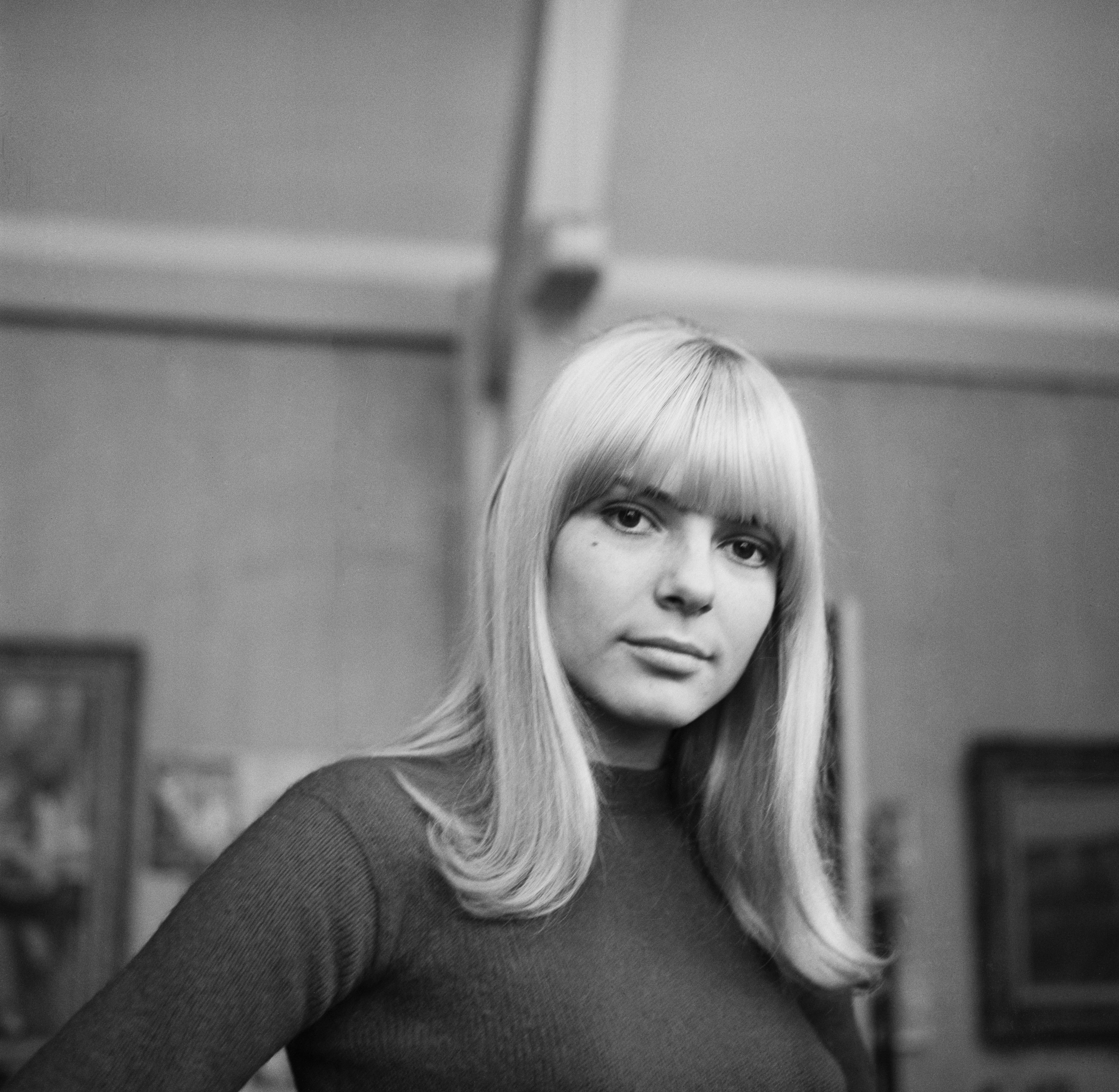 La légendaire France Gall dans sa jeunesse. l Source : Getty Images