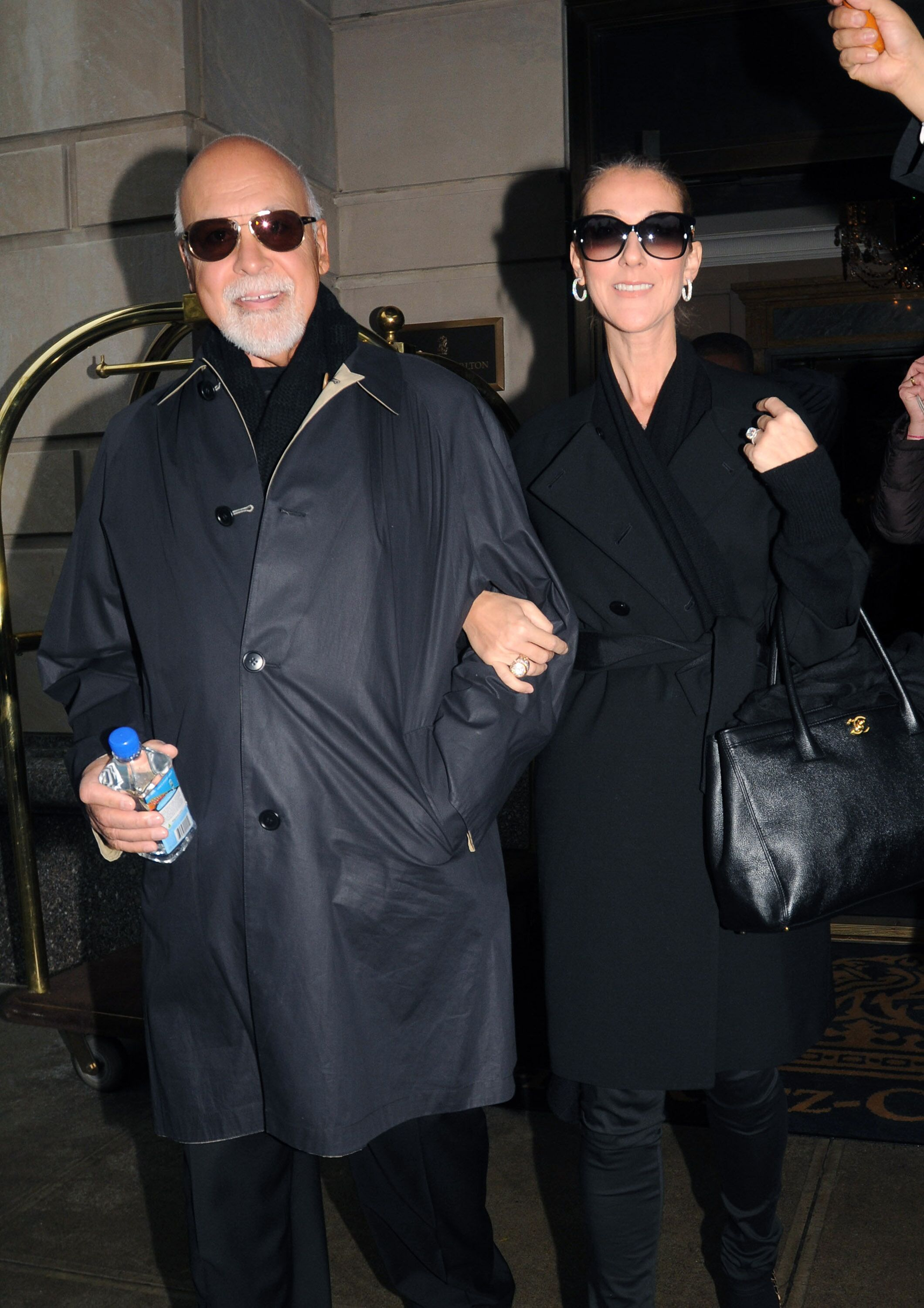 Céline Dion et son mari René Angélil. l Source : Getty Images