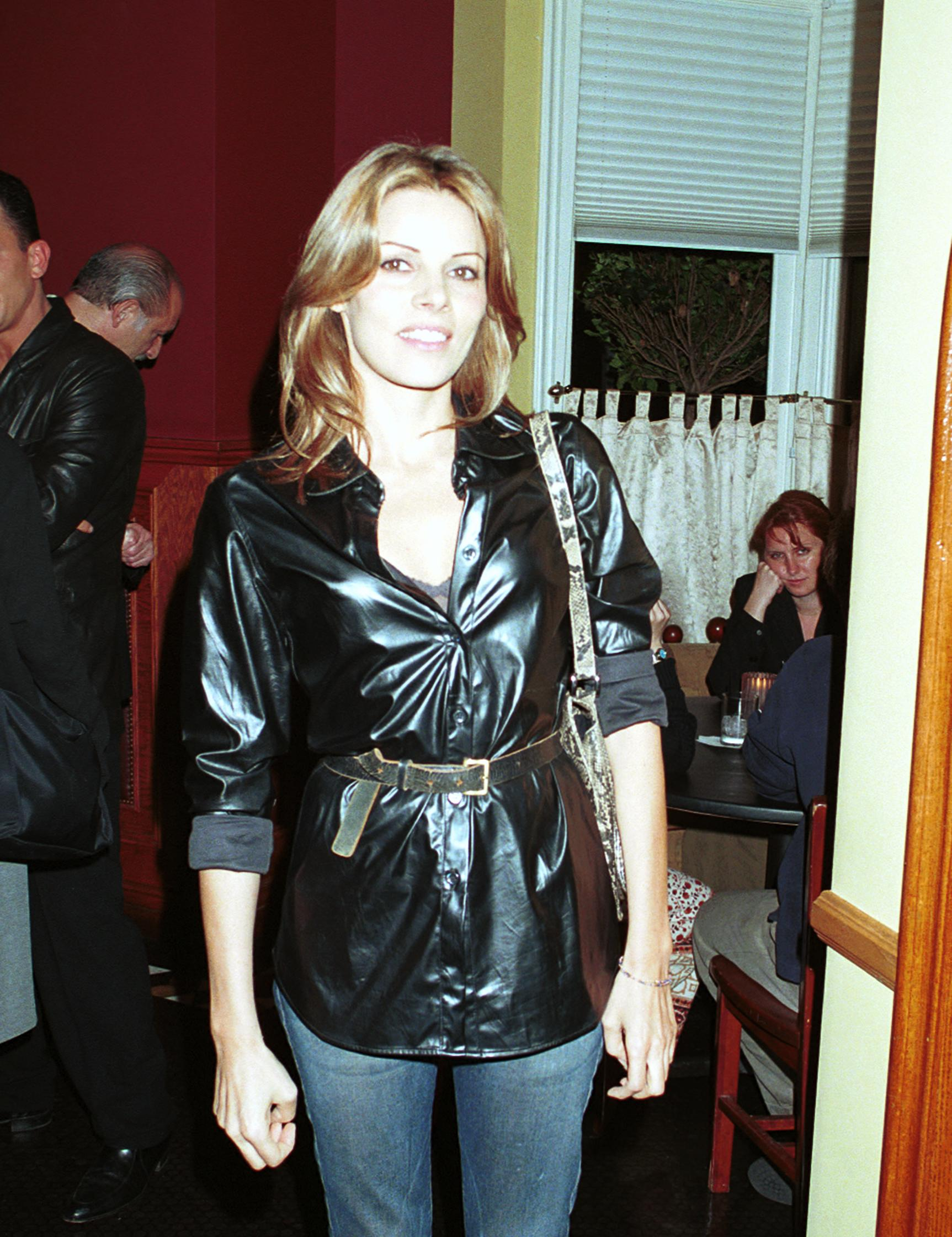 Tahnee Welch Leaving Atlantic Restaurant circa 1999. | Source: Getty Images