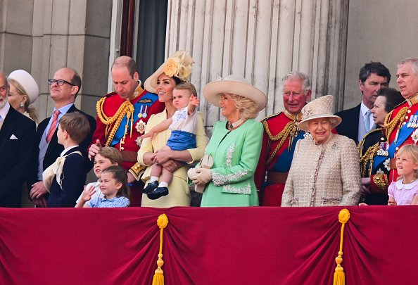 The Royal Family on the balcony of Buckingham Palace during Trooping The Colour on June 8, 2019 in London, England. | Photo: Getty Images