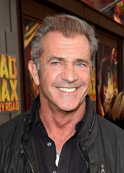 """Mel Gibson attends the premiere of Warner Bros. Pictures' """"Mad Max: Fury Road."""" 