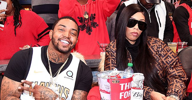 Lil Scrappy's Wife Rocks an Orange Ensemble as She Flaunts Her Baby Bump While Carrying 3rd Child