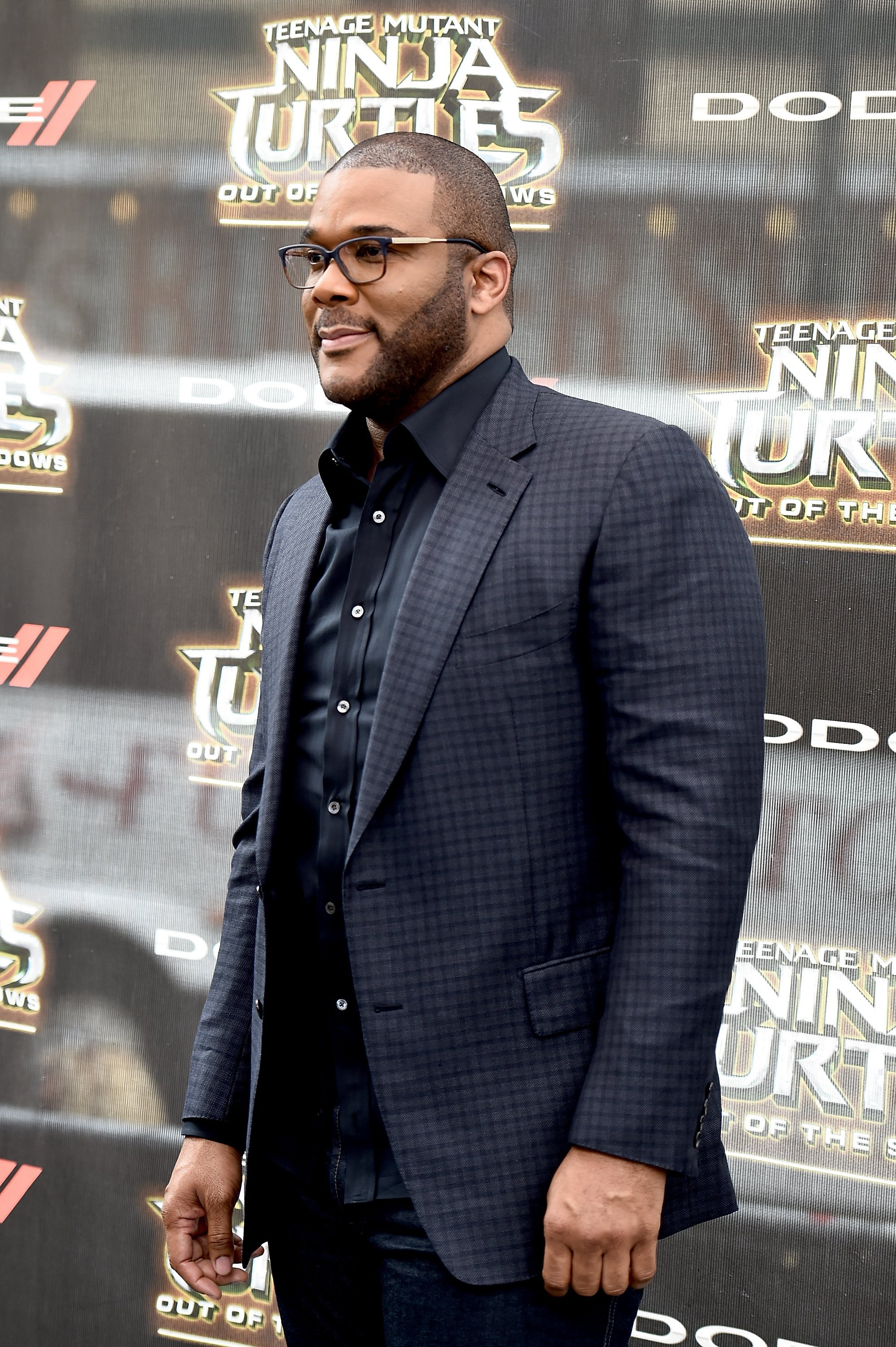 "Tyler Perry at the ""Teenage Mutant Ninja Turtles: Out Of The Shadows"" World Premiere on May 22, 2016 in New York City 