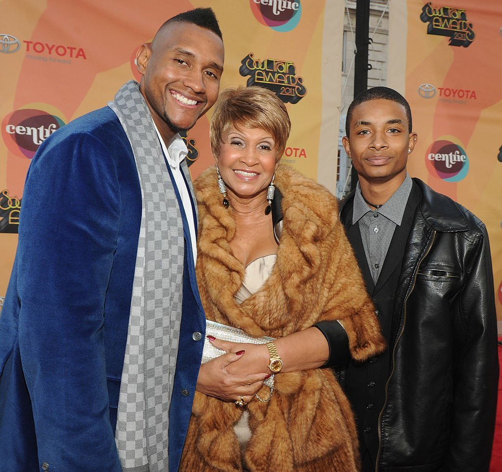 """Welcome to Sweetie Pie's"" Lil Charles, Tim Norman and Miss Robbie Montgomery attend the Soul Train Awards 2011. 
