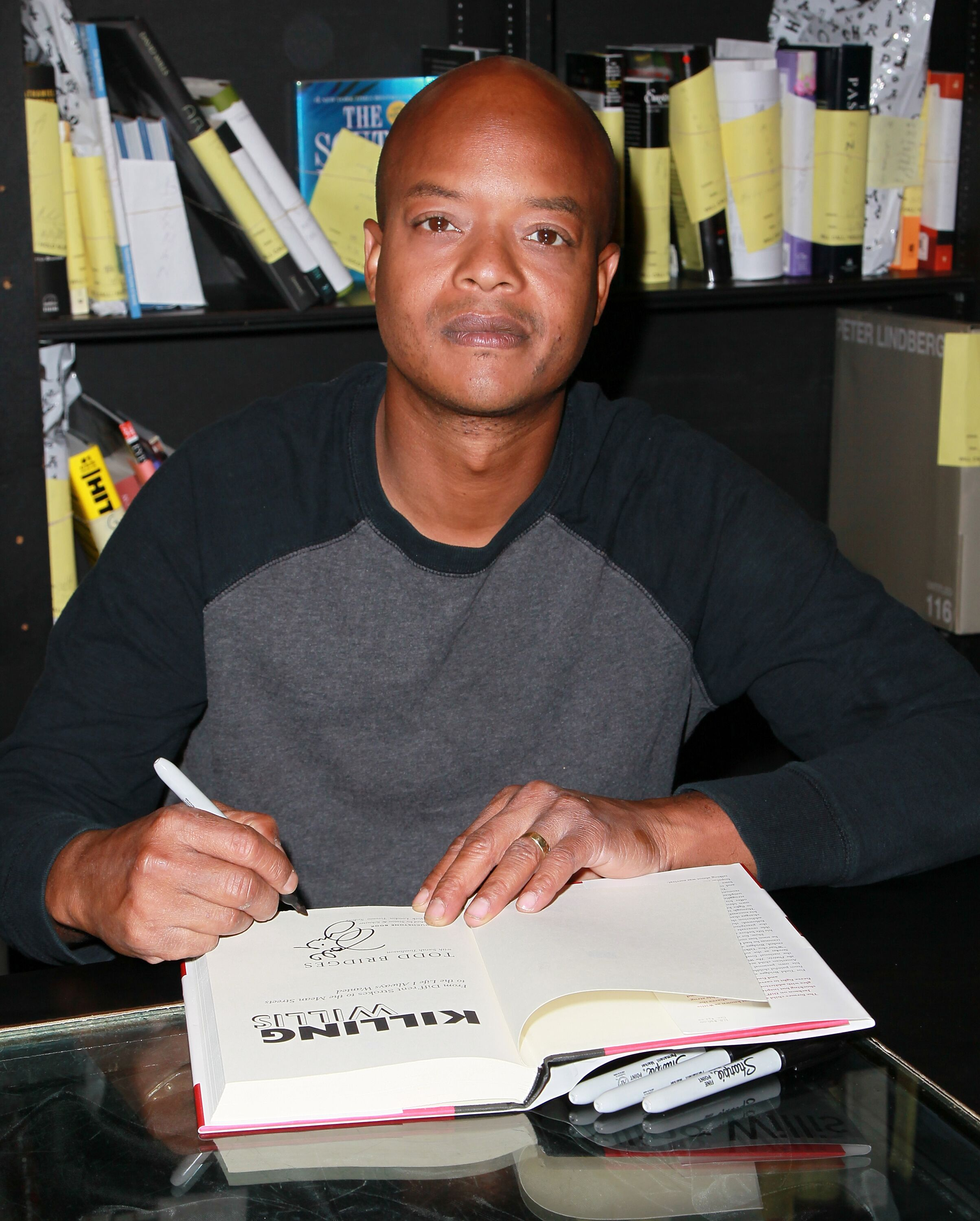 "Todd Bridges attends a signing for his book ""Killing Willis: From Diff'rent Strokes to the Mean Streets to the Life I Always Wanted."" 