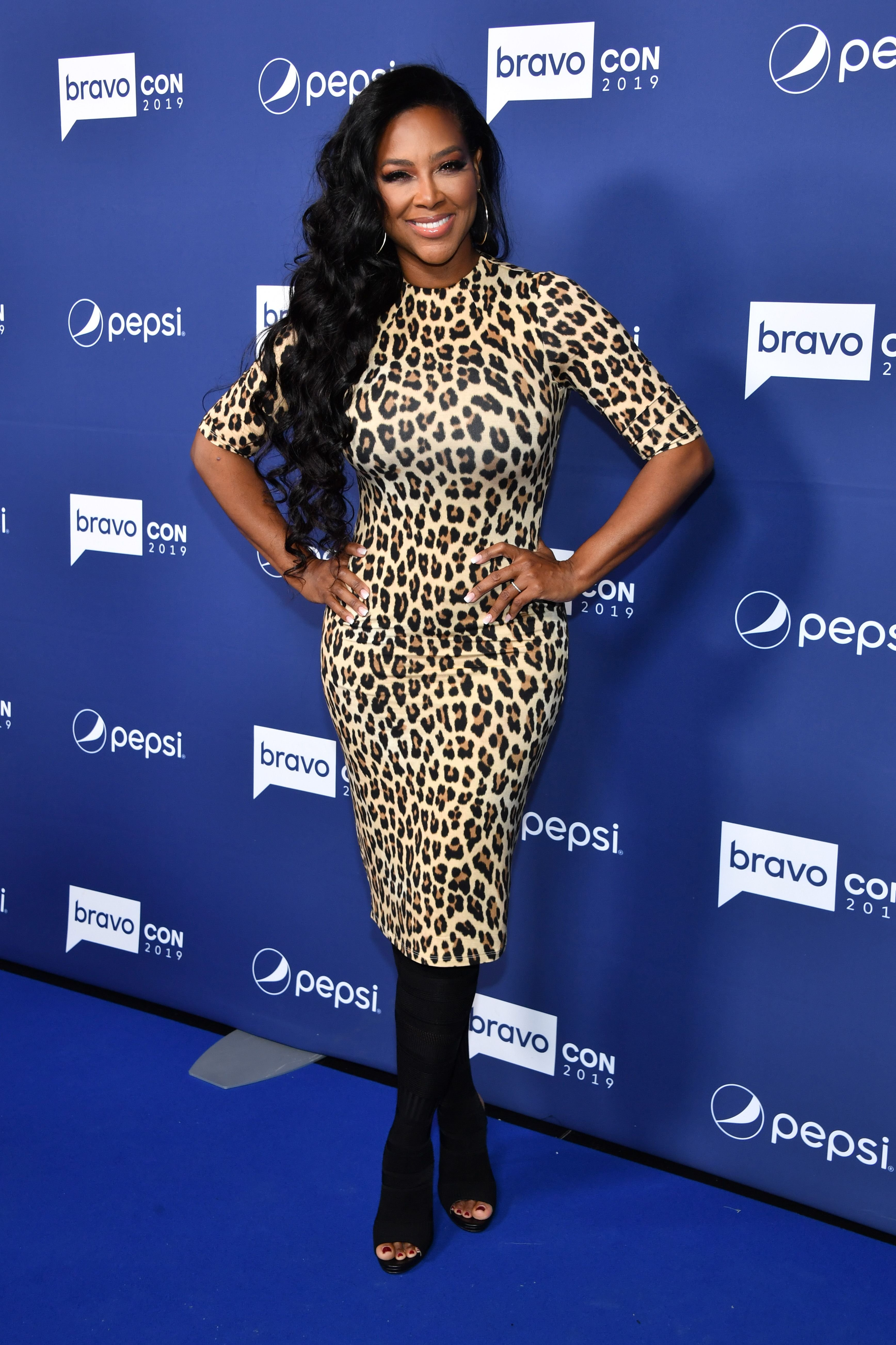 Kenya Moore attends the opening night of 2019 BravoCon at Hammerstein Ballroom on November 15, 2019 in New York City. | Source: Getty Images