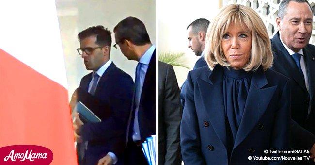 """L'entourage d'Emmanuel Macron rêve de voir Brigitte """"disparaître"""", révèle l'un de ses proches"""