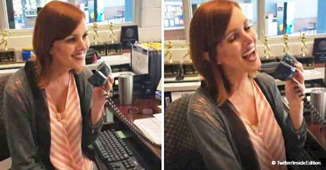 High school receptionist singing 'At Last' over intercom on last day of school went viral in 2018