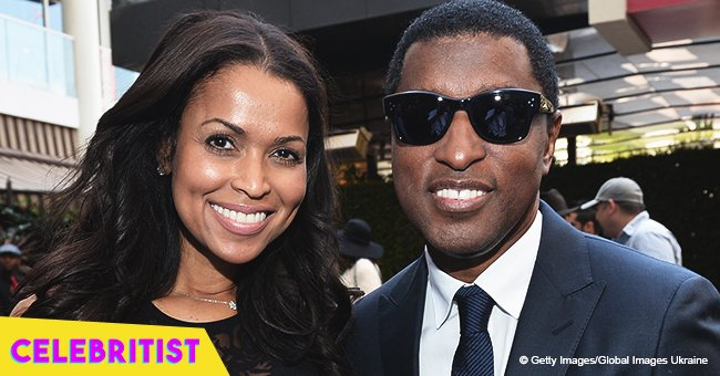 Tracey Edmonds melts hearts with photo of grown-up sons who look more like their dad, Babyface