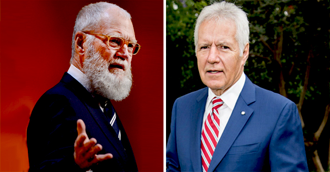 David Letterman Reacts to Alex Trebek's Health Update and the Power of 'Positive Thought'