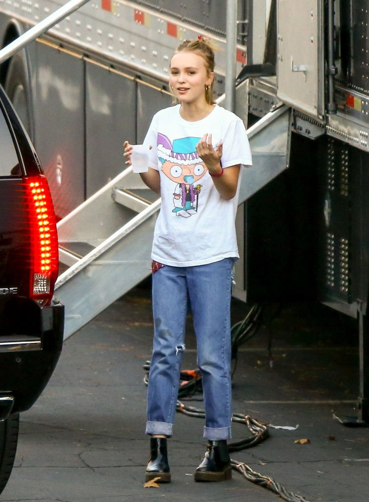 LIly-Rose Depp, 2014 | Quelle: Getty Images