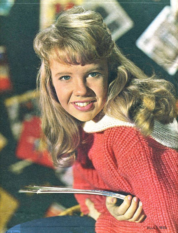 Hayley Mills Film Show 1963. | Source: Flickr.com