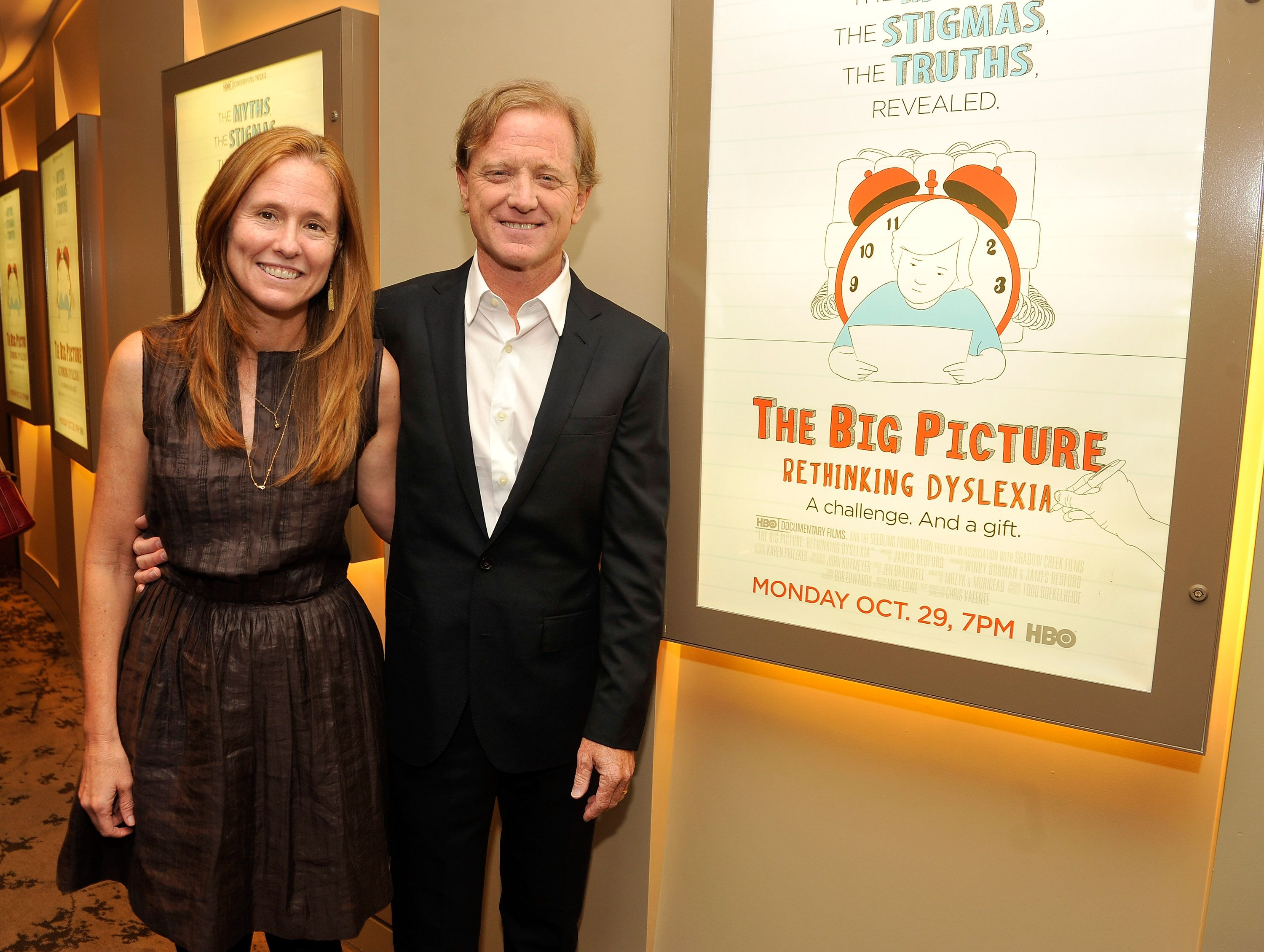 """Kyle Redford and director James Redford at HBO's New York Premiere of """"The Big Picture: Rethinking Dyslexia"""" on October 25, 2012   Photo: Getty Images"""