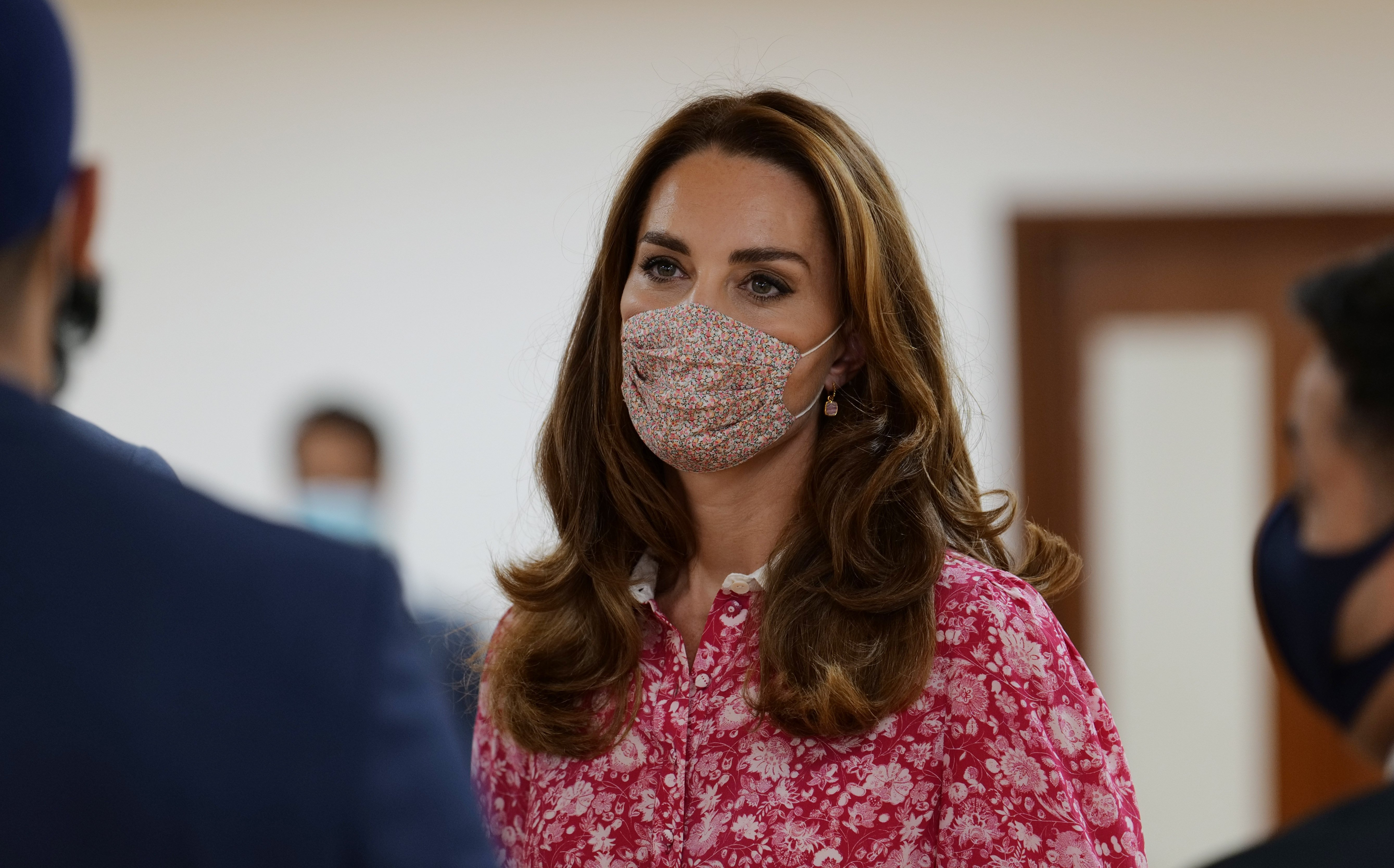 Kate Middleton during a visit to the East London Mosque on September 15, 2020, in London, England. | Source: Getty Images.