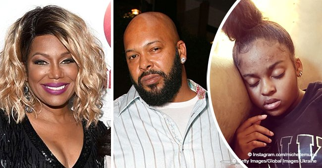 Michel'le & ex Suge Knight's daughter is now 16 and looks more like her mom in photo