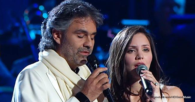 """Erstaunlicher Rückblick von Andrea Bocelli und Katharine McPhee mit """"The Prayer"""""""