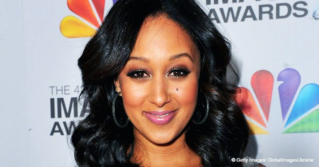 Tamera Mowry Returns to 'The Real' after Extended Illness and Explains Tia's Breast Milk treatment
