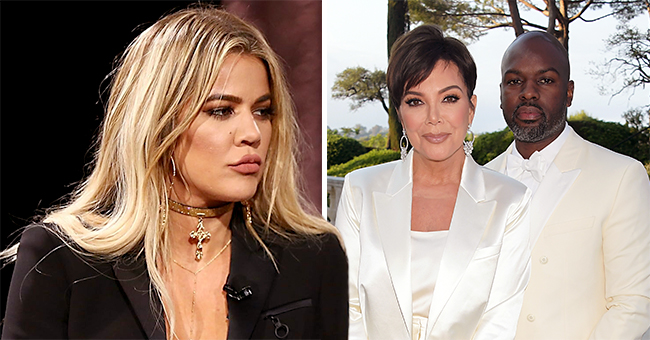 Khloé K. Backs Kanye West after 'Rude' Texts to Kris Jenner's Boyfriend Corey Gamble