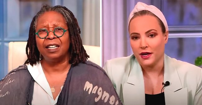 Whoopi Goldberg Cuts off Meghan McCain Amid Discussion over COVID-19 Bill in 'The View'