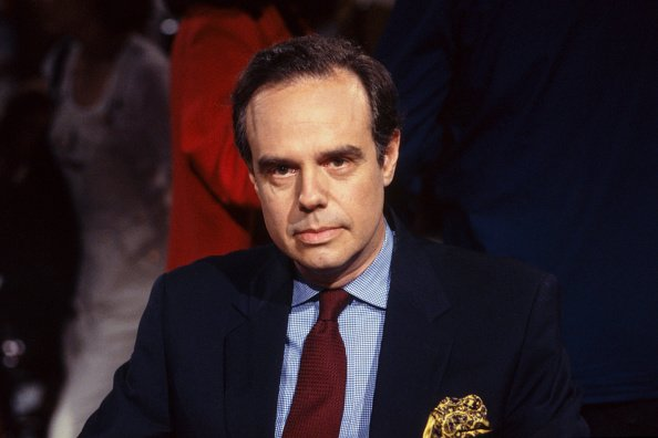 Frédéric Mitterrand, à Paris en 1990 |Photo : Getty Images.