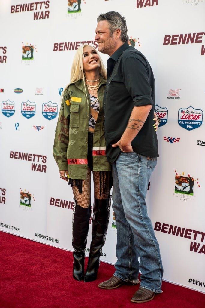 """Gwen Stefani and Blake Shelton attend """"Bennett's War"""" Los Angeles Premiere on August 13, 2019 