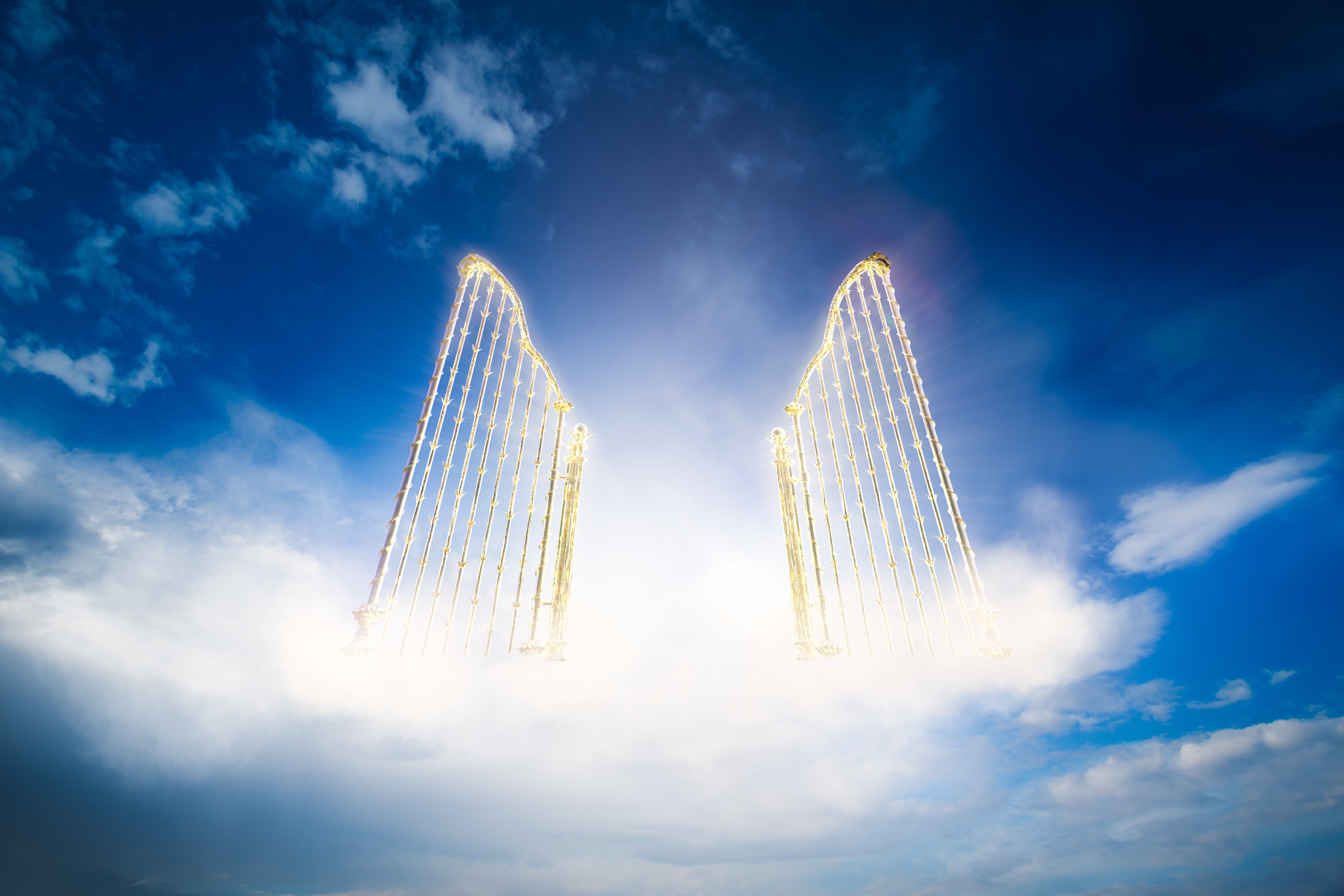 Clouds and heaven's gates   Photo: Shutterstock