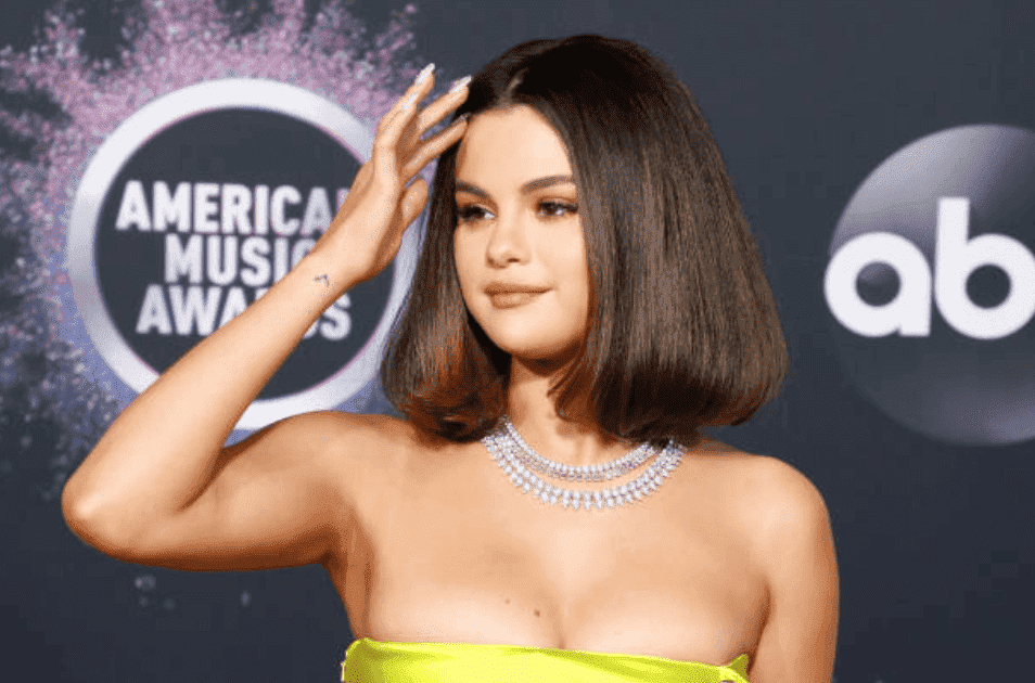 Selena Gomez poses on the red carpet at the 2019 American Music Awards, on November 24, 2019, in Los Angeles, California | Source: Getty Images (Photo by Taylor Hill/FilmMagic)