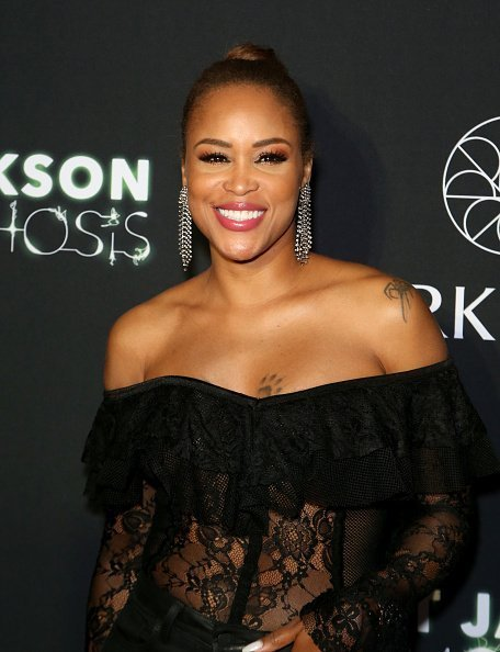 "Eve attends the after party for the debut of Janet Jackson's residency ""Metamorphosis"" on May 17, 2019  