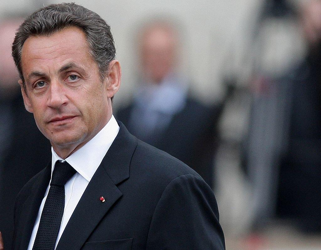 L'ancien président de la république Française Nicolas Sarkozy.   Photo : GettyImage
