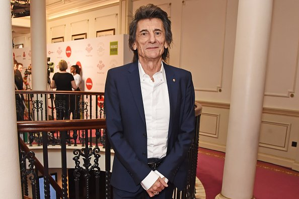 Ronnie Wood at The London Palladium on March 11, 2020 in London, England. | Photo: Getty Images