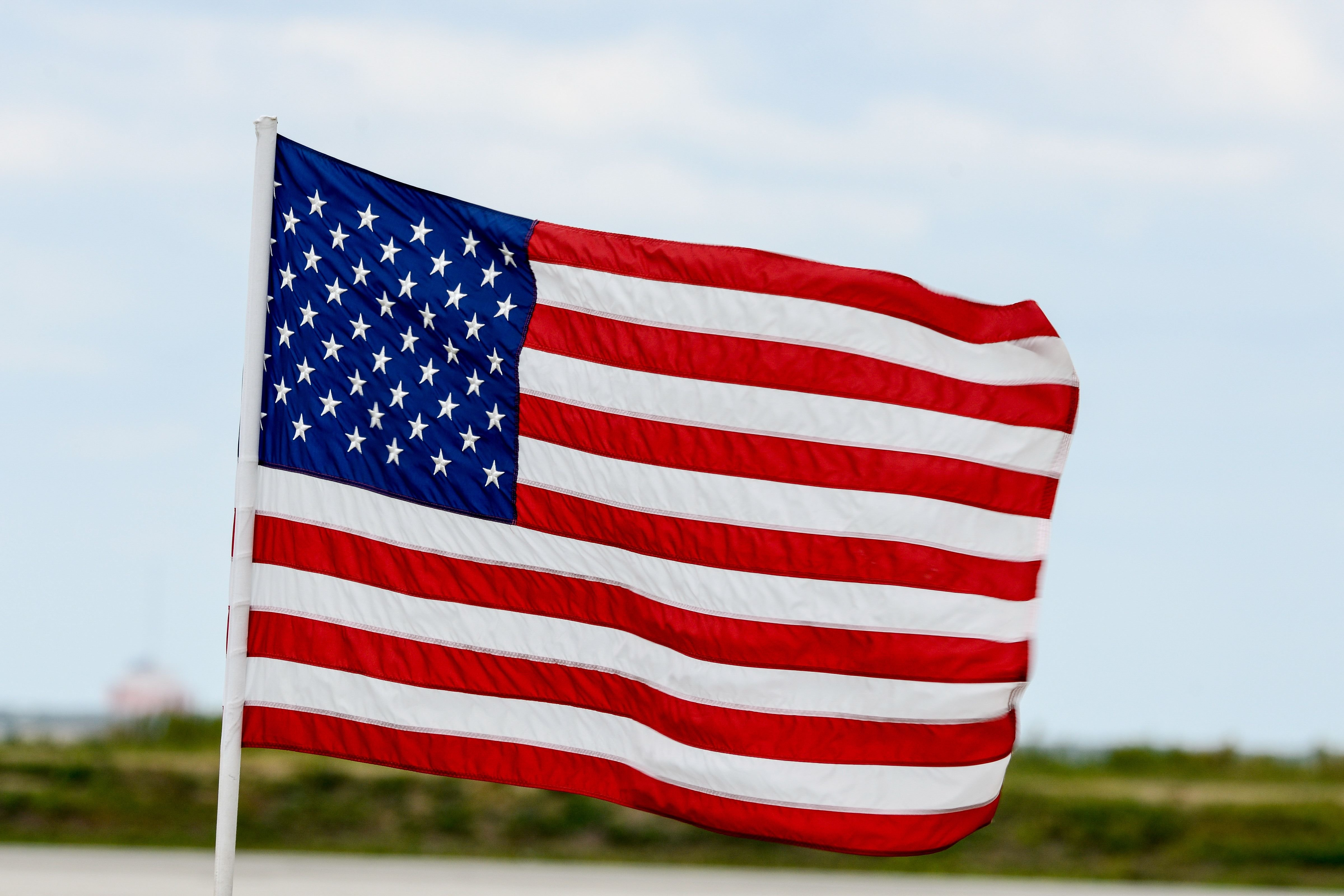 The United States of America (U.S.A) flag.│Source: Shutterstock